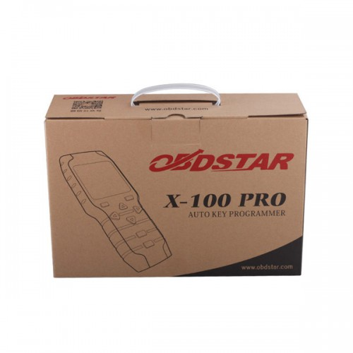 Free Shipping by DHL! OBDSTAR X-100 PRO X100 PRO Auto key programmer C Type Immobilizer Version+OBD Get Free EEPROM Adapter