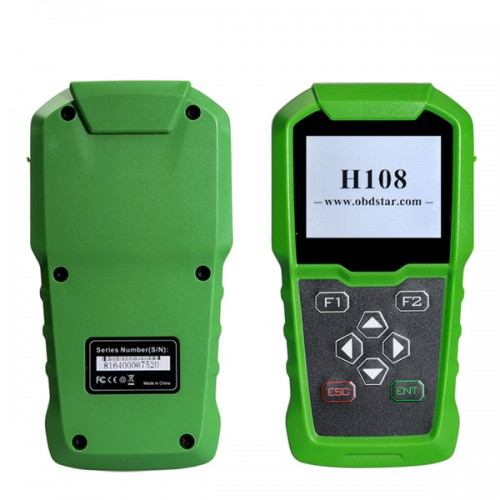 OBDSTAR H108 PSA Key Programmer for Peugeot Citroen DS Support All Key Lost/Odometer Adjustment/ CAN & K-line