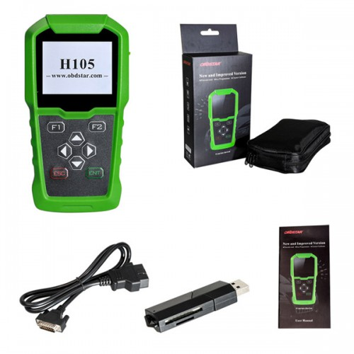 [Monthly Special] OBDSTAR H105 Hyundai/Kia Auto Key Programmer / PIN code reading / Odometer Adjustment