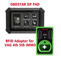 DHL Free Shipping! OBDSTAR DP PAD Full Configuration Plus RFID Adapter for VW AUDI SKODA SEAT 4 & 5th IMMO