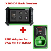 (Ship from US/UK No Tax) OBDSTAR X300 DP PAD Android Tablet Basic Version Plus IMMO RFID Adapter for VAG 4th 5th GEN