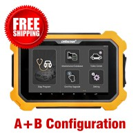OBDSTAR X300 DP Plus A+B Configuration 8 inch Tablet Immobilizer+Mileage Correction+Special function