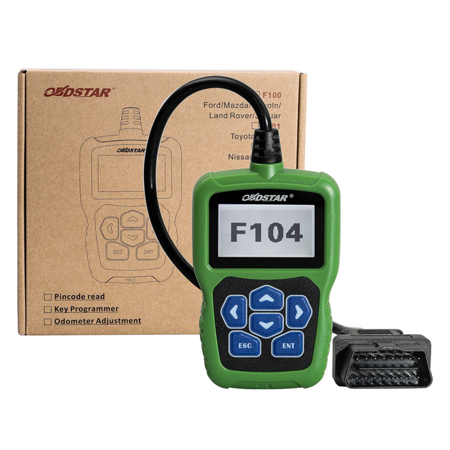 [Ship from US No Tax] OBDSTAR F104 Key Programmer for Chrysler Jeep Dodge  Support Odometer and Pin Code Reading
