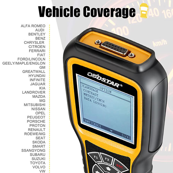(Ship from US/UK No Tax) OBDSTAR X300M Special for Odometer Adjustment and  OBD2 Support Benz & MQB VAG KM Function