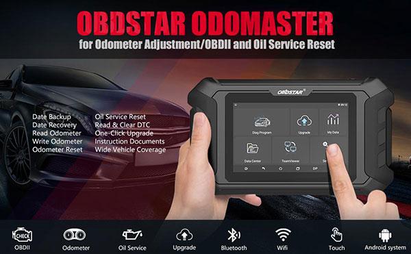 OBDSTAR Odo Master Functions