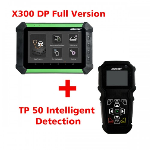 (Value Bundles)  Free Shipping by DHL! OBDSTAR X300 DP Full Configuration Plus TP50 Intelligent Detection Tire Pressure