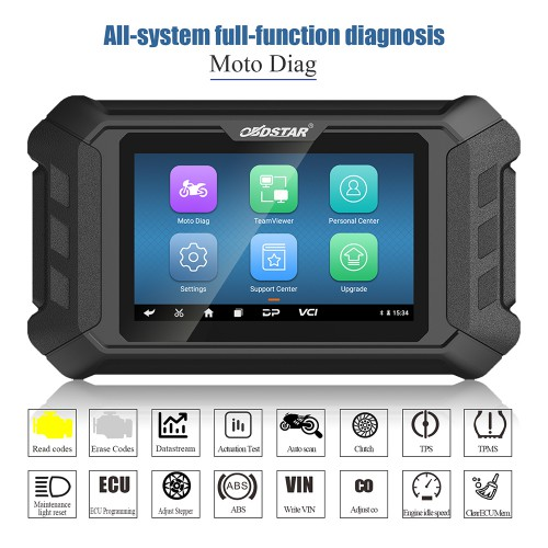 OBDSTAR MS50 Motorcycle Scanner Motorcycle Diagnostic Tool