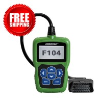 OBDSTAR F104 Key Programmer for Chrysler Jeep Dodge Support Odometer and Pin Code Reading